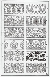 Ornament Sztuka Wikipedia Wolna Encyklopedia Jugendstil Ornamente Ornamente Jugendstil Muster