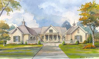 Grove Hall Southern Living House Plans Southern Living House Plans Porch House Plans Craftsman House Plans