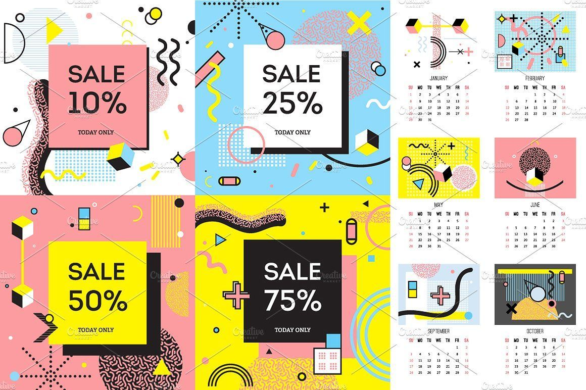 Sale! Memphis Design Style Pack #elements#design#posters#including #memphisdesign Sale! Memphis Design Style Pack #elements#design#posters#including #memphisdesign