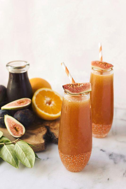 When Figs Fly // Spiced Rum Fig Kombucha Cocktail // @tastyyummies // www.tasty-yummies.com