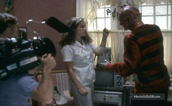 A Nightmare On Elm Street Behind The Scenes Photo Of Heather