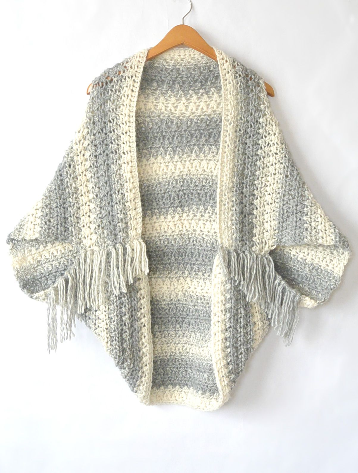 Light Frost Easy Blanket Sweater Crochet Pattern | Crochet ...