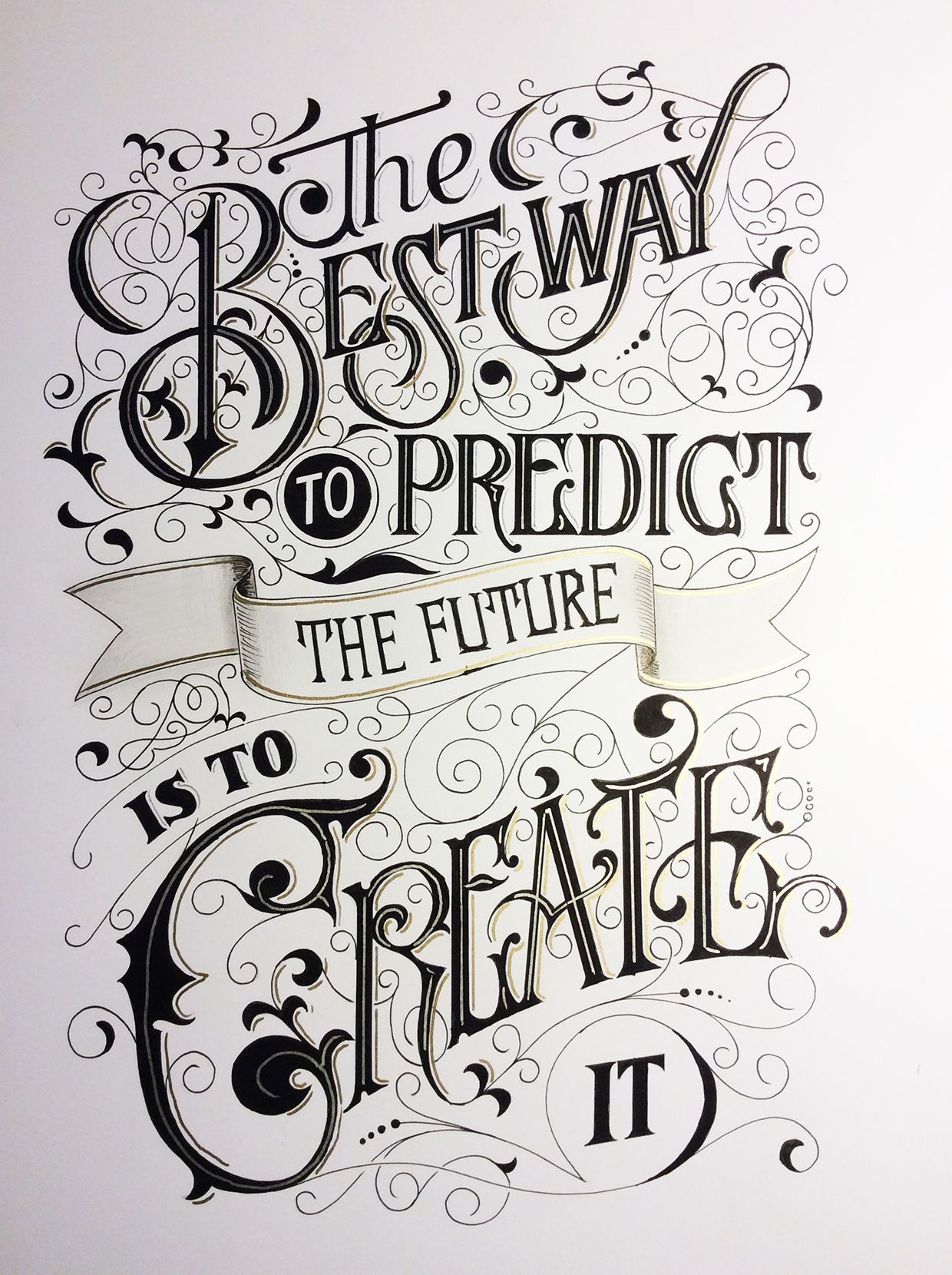 FRIDAY LETTERS PROJECT on Behance Tipografi, Gerçekler