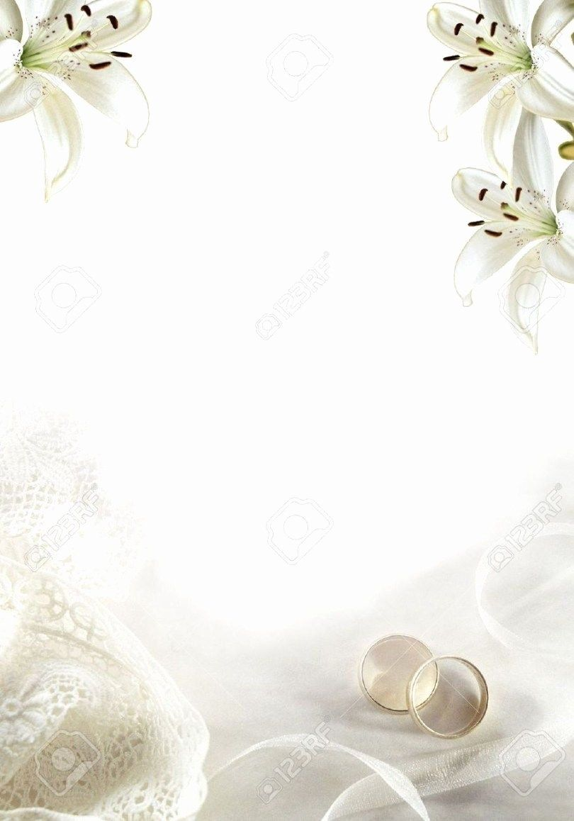 Blank Wedding Invitation Paper Lovely 5 Pretty Picture Of Wedding