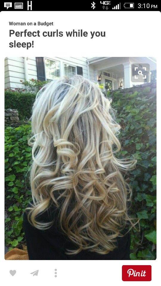 Not a fan of the ring curls