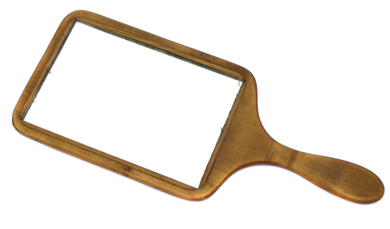 Edwardian Hand Mirror Vintage Vanity Vintage Grooming Vintage Mirror  Vintage Hand Held Mirror Vintage Dressing Table