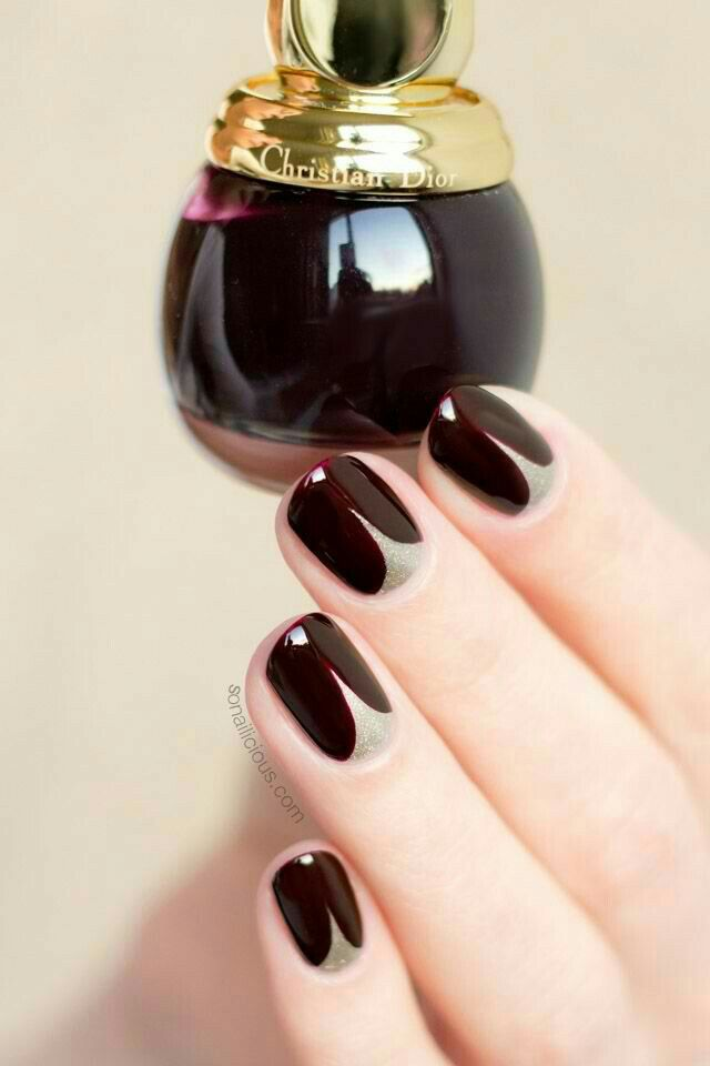 nail inspiration nails at play pinterest ongles onglerie and ongles vernis. Black Bedroom Furniture Sets. Home Design Ideas