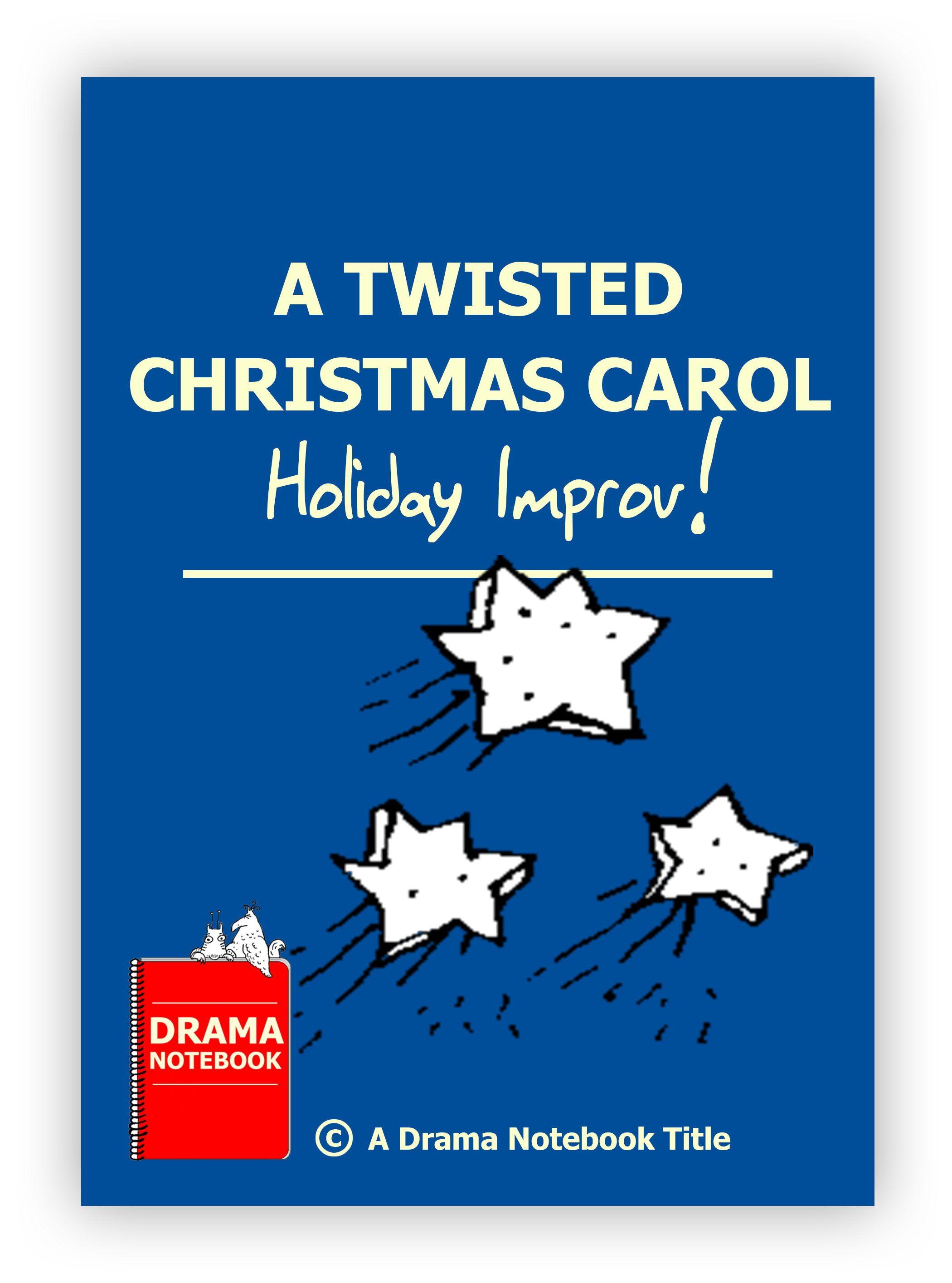 Christmas carol school production scripts