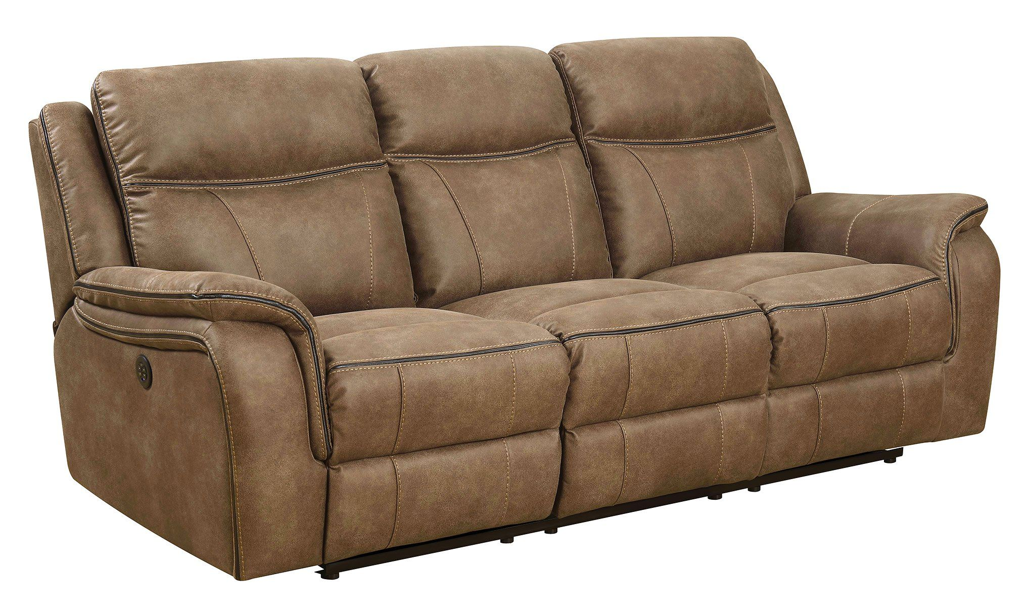 hr new flynn furniture classic sofa reclining recliner dual products