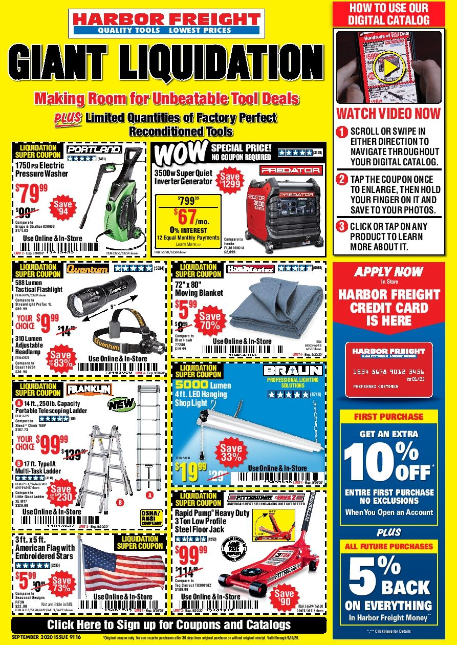 Pin on Harbor freight coupon