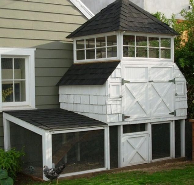 Chicken House Conceptions Poulailler Poulets De Basse Cour Poulaillers De Ville