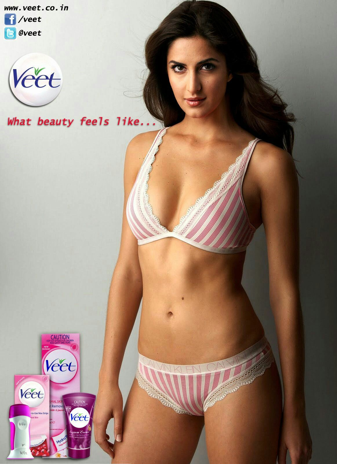 Katrina Kaif Looking So Sexy In Pink Bikini   Katrina -2940