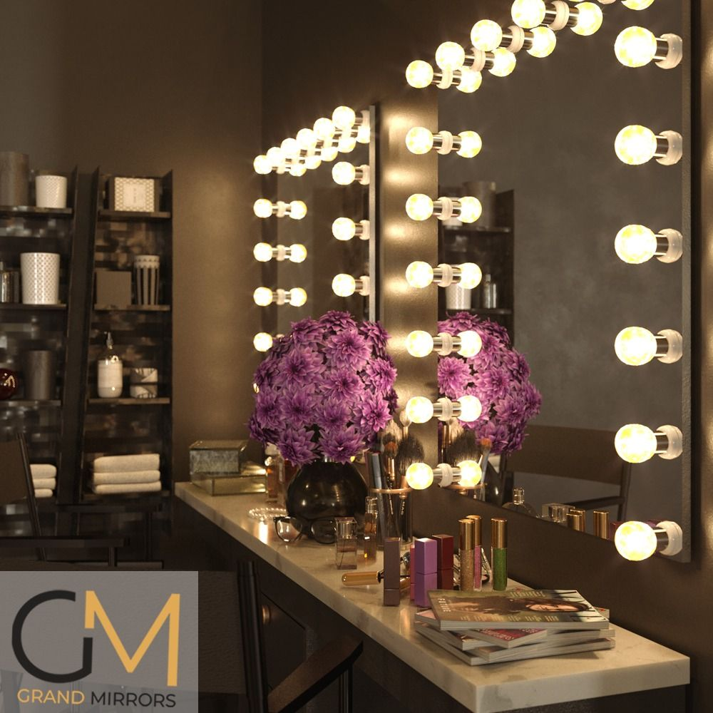 Grand Mirrors Hollywood In 2020 Mirror With Lights Mirror Mirrors For Makeup