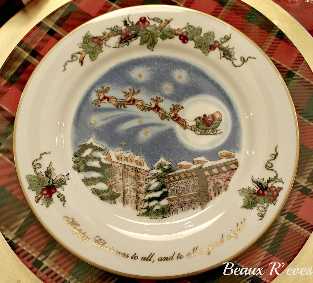 Beaux R'eves: 'twas The Night Before Christmas Love This Pattern