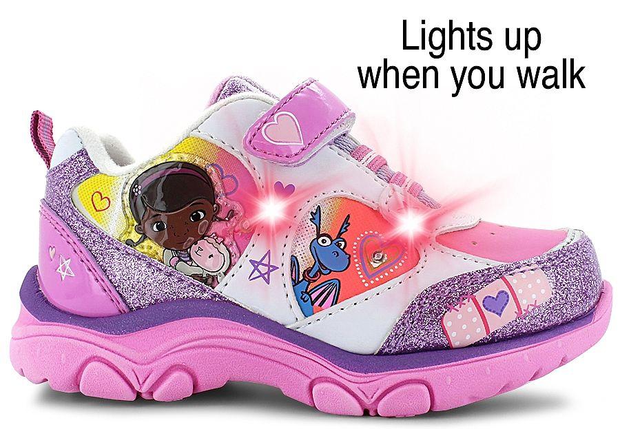 Disney Doc McStuffins Lights | SHOE