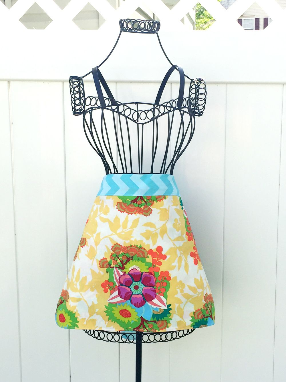 One Hour Free Apron Patterns | Costura, Delantales de cocina y ...