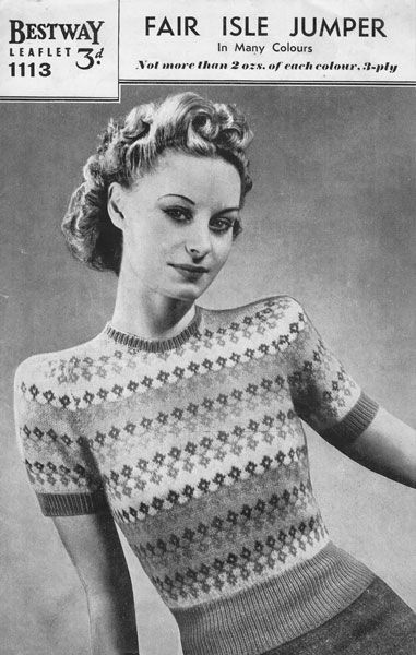 Vintage Knitting Pattern Bluzki Pinterest Knitting Patterns