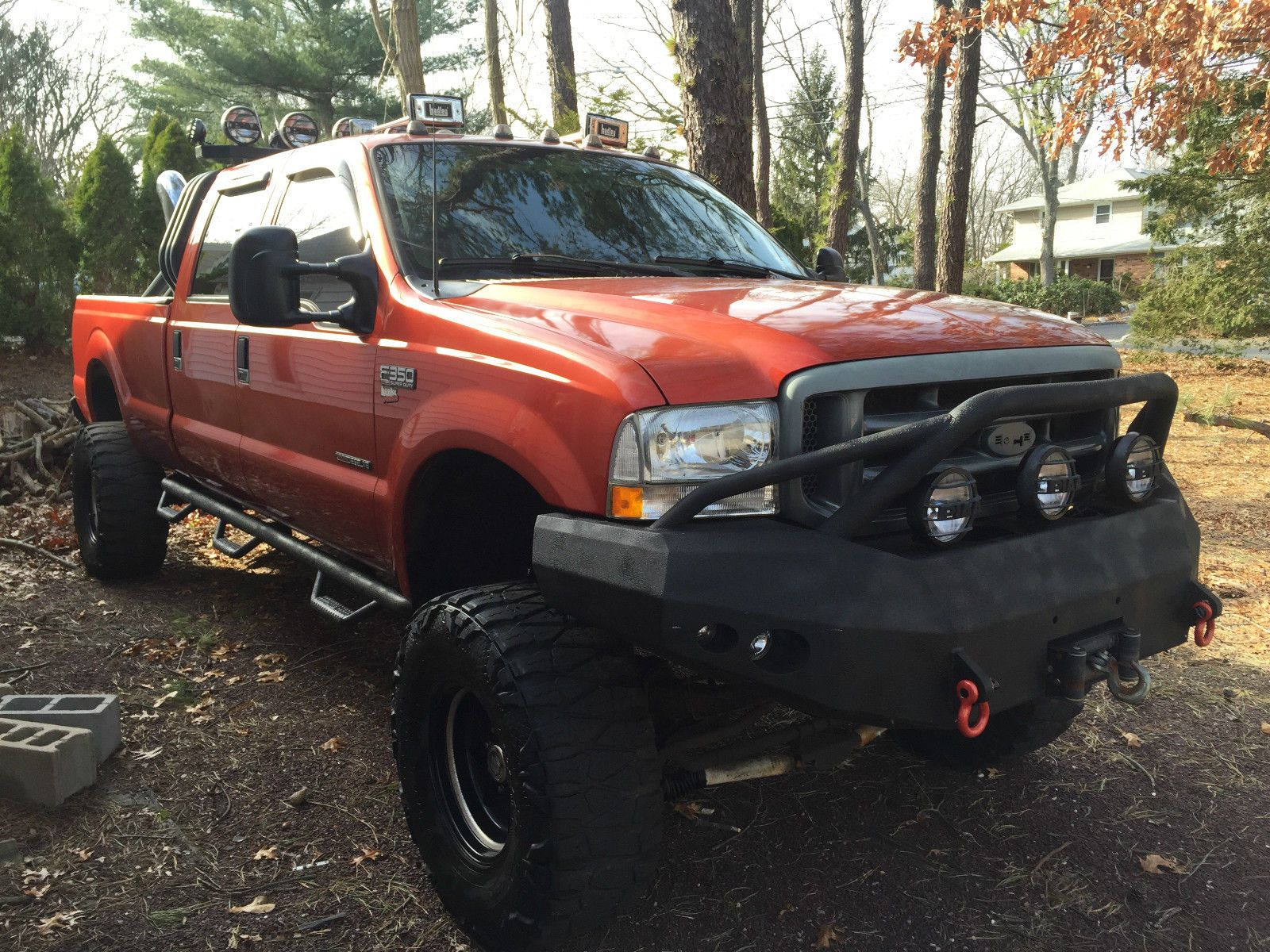 2000 FORD F 350 4X4 Powerstroke CREW CAB Monster TRUCK