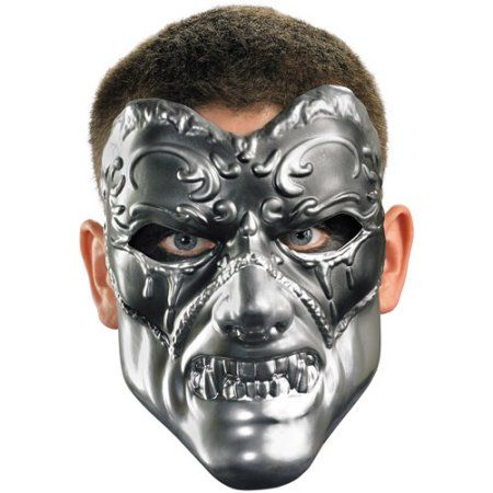 Evil Masquerade Mask Adult Halloween Accessory, Men\u0027s, Multicolor