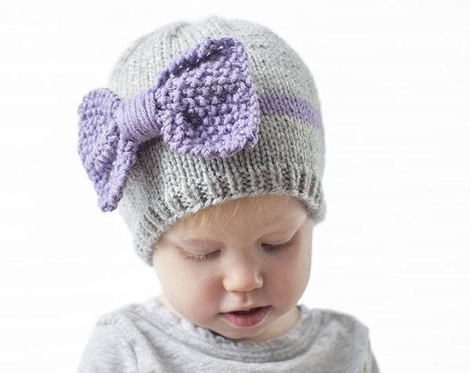 RainBOW Baby Hat KNITTING PATTERN / Knit Rainbow Hat / Rainbow ...