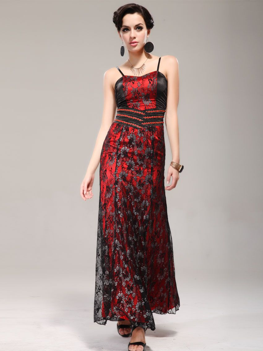 Everpretty frame sexy lace evening long dresses herd if i