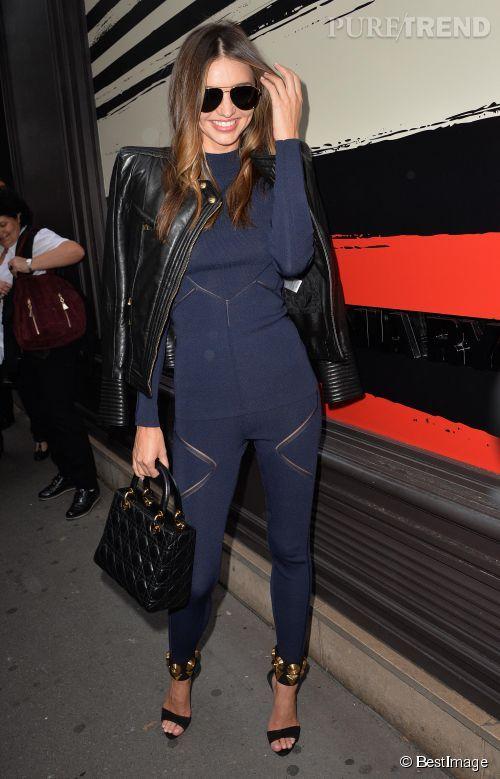 Miranda Kerr chez Sonia Rykiel, tendance et sexy.