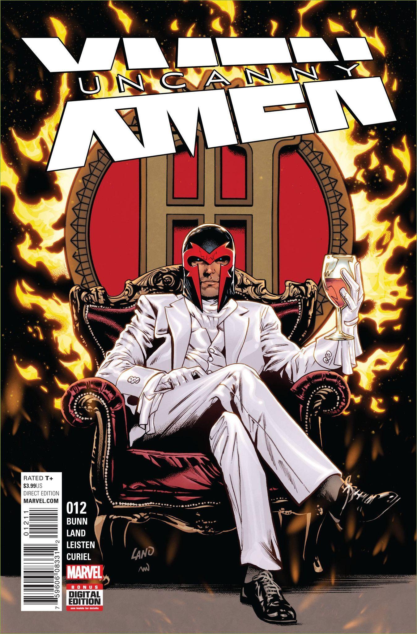 Uncanny X Men 12 X Men Superhero Comic Marvel