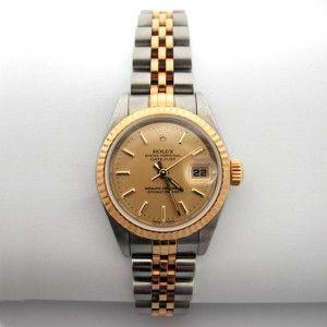 b40f58c56e7a Montre en or et acier de marque Rolex .http   www.bijoux