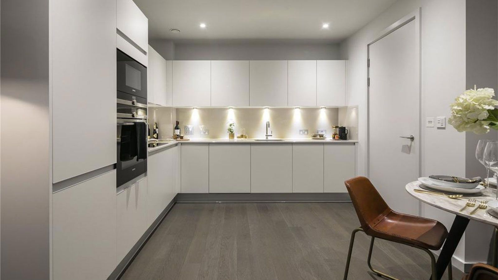 Porcelanosa Kitchen Cabinets Porcelanosa Grupo Projects Minimalist Apartments In The Centre Of