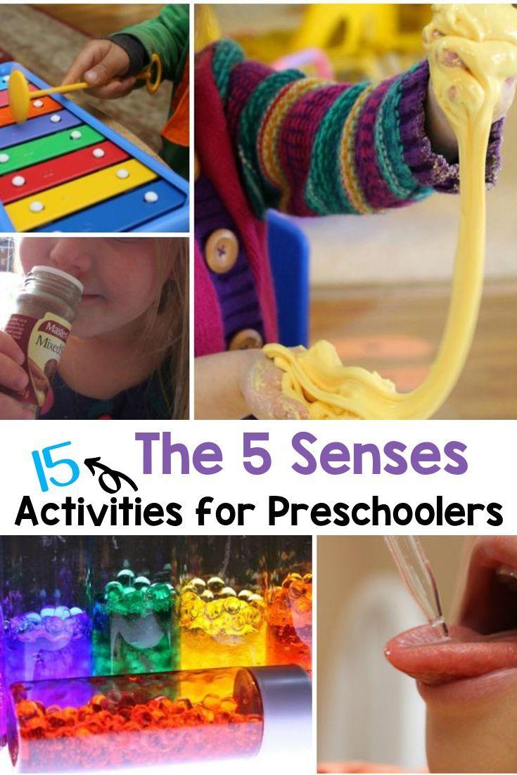 15 Fabulous Five Senses Activities For Preschoolers