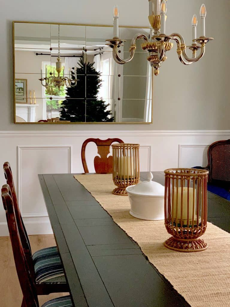 Traditional Dining Room Refresh Before And After Classic Casual Home Traditional Dining Room Table Beautiful