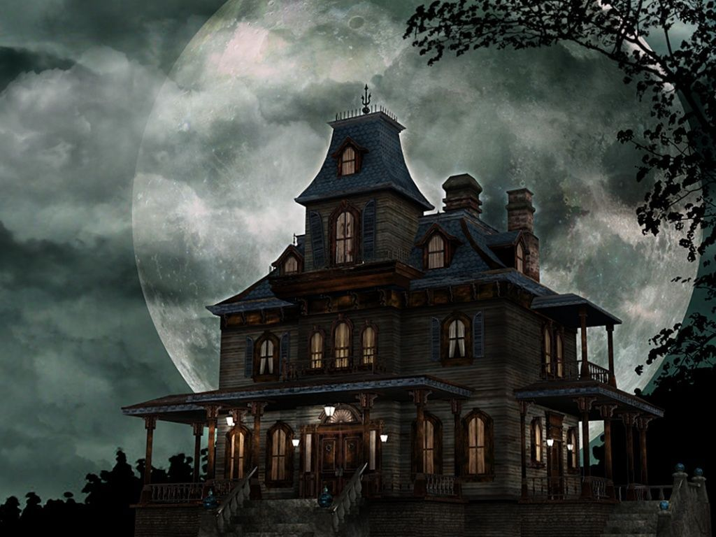 It S The Slender Mansion Lol Scary Haunted House Halloween Haunted Houses Easy Haunted House