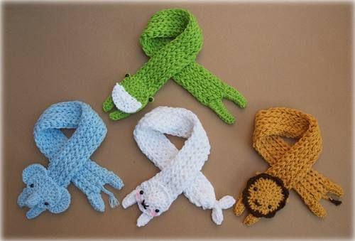 17 mejores imágenes sobre bufandas en Pinterest