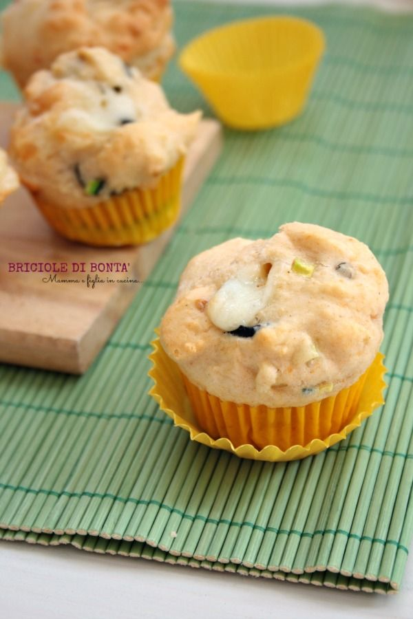 Zucchini olive and asiago muffin diet muffins plum for Nuove ricette italiane