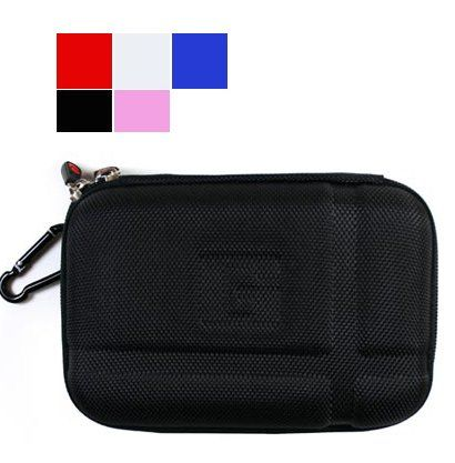 "Balck Travel Nylon GPS Carry Case Cover Pouch Bag For 5/"" 5.2/"" TomTom Garmin Nuvi"