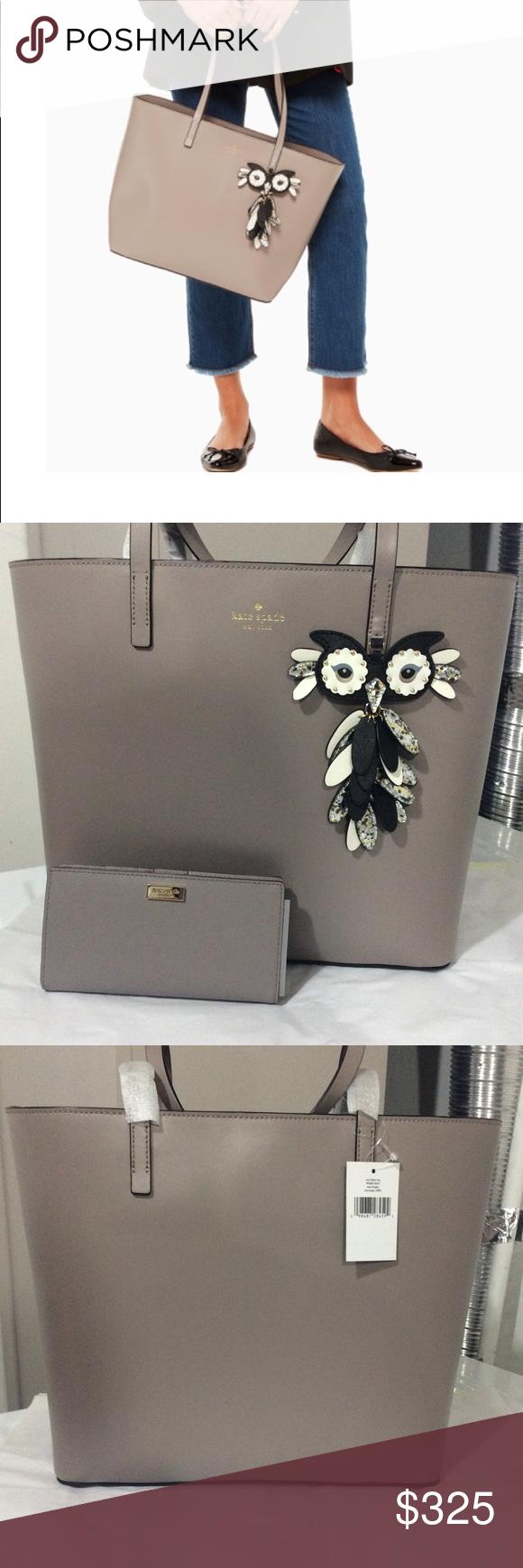 2d6c134f4 Dust Bag · Soft Leather · Kate Spade ♤ Star Bright Owl Little Len 🖤 Super  Gorgeous & Whimsical!