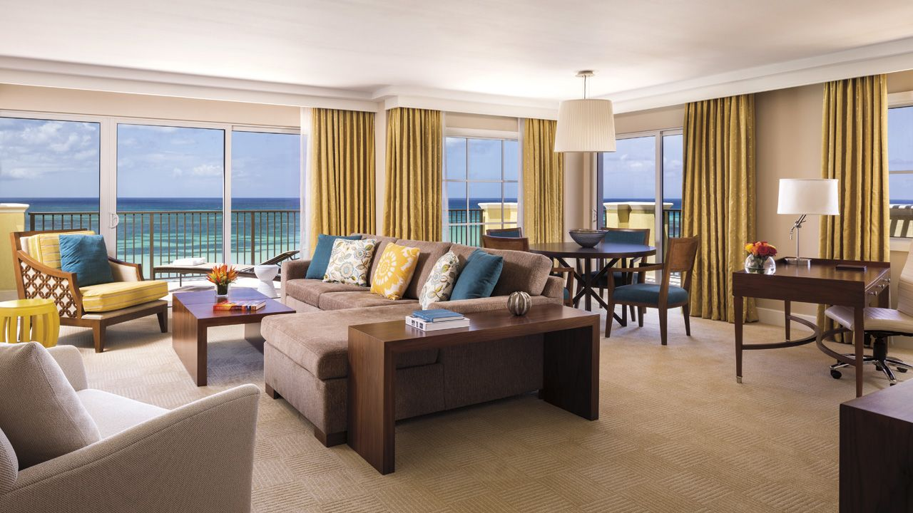 Deluxe Suite At The Ritz Carlton Aruba