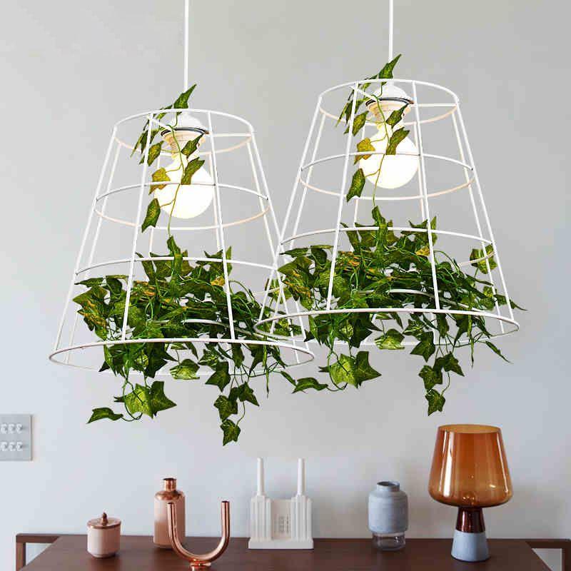 Plant Pendant Lights Nordic Modern Hanging Pendant Light Fixture White Pastoral La Hanging Pendant Light Fixtures Pendant Light Fixtures Hanging Pendant Lights