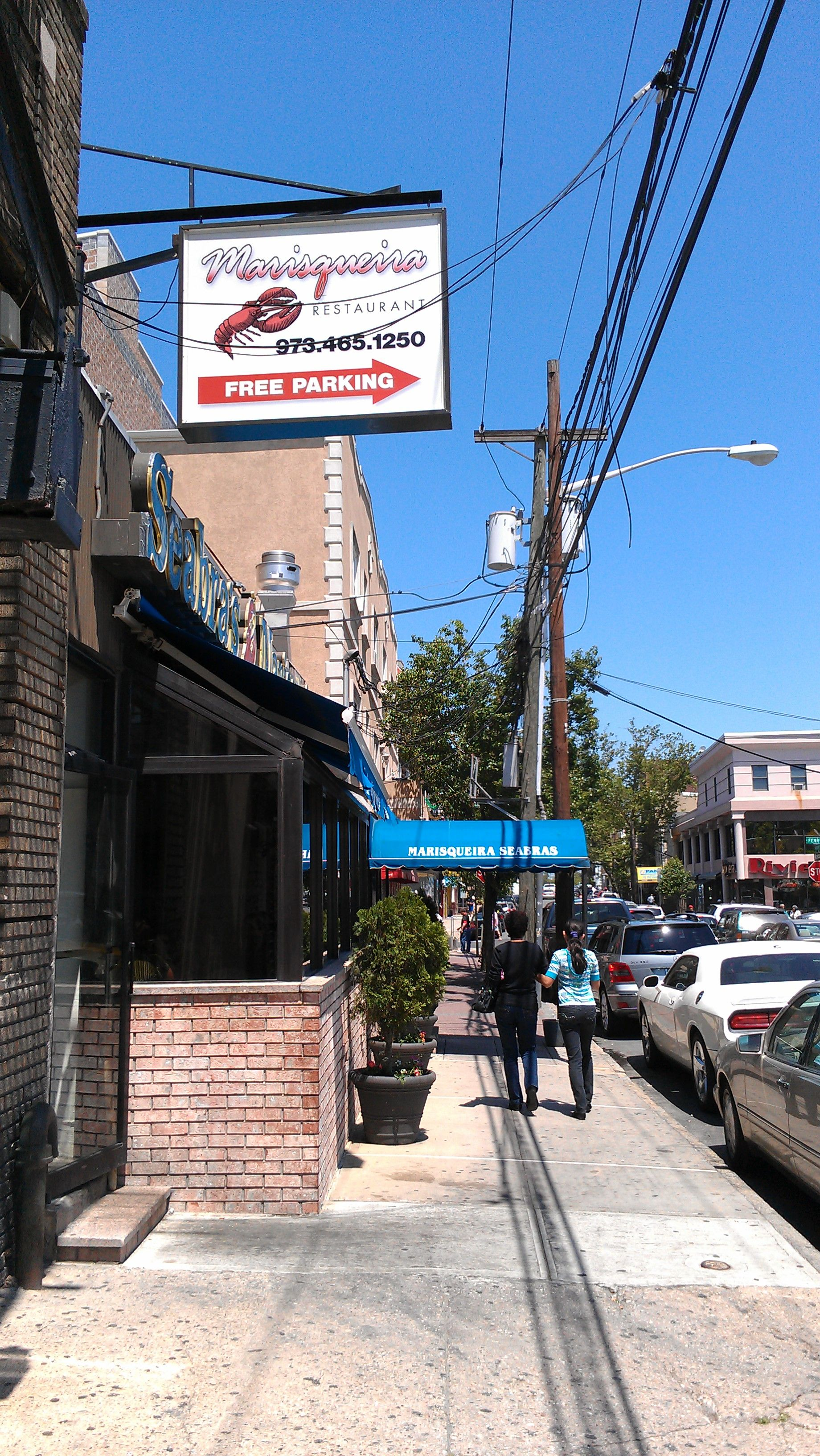 Portuguese Restaurant In Ironbound Section Of Newark Nj
