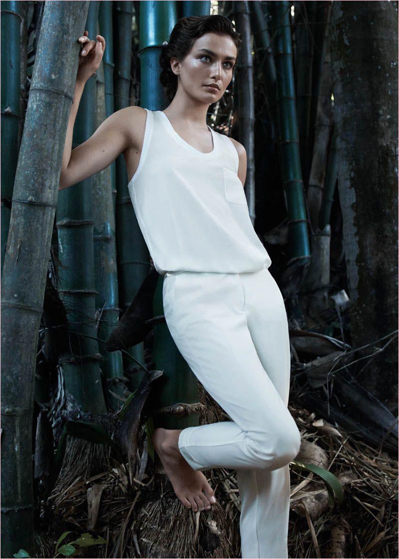 mango summer 2014 catalogue17 Andreea Diaconu Relaxes in Mango Summer 14 Catalogue