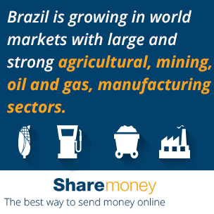 Brazil Is Growing In World Markets With