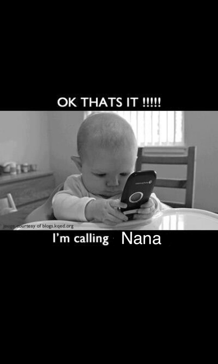 I wish they could call! Funny babies, Funny baby pictures