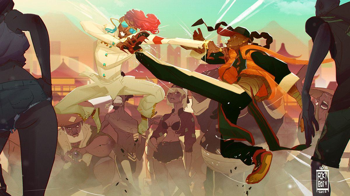 Artstation Kung Fu Is Dead Fight Scene Malcolm Wope Animation