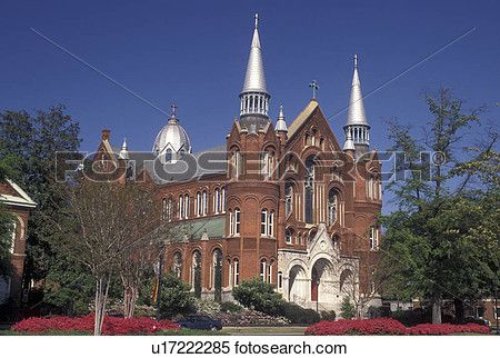 Augusta, GA, Georgia, Sacred Heart Cultural Center (former Catholic Church) in…