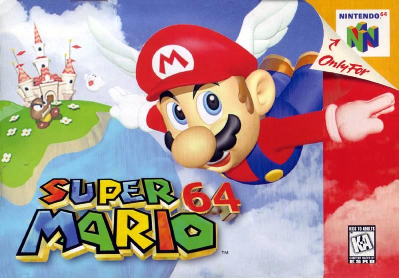 Super Mario 64 Nintendo 64 Game Nintendo 64 Games Super Mario Super Mario Bros