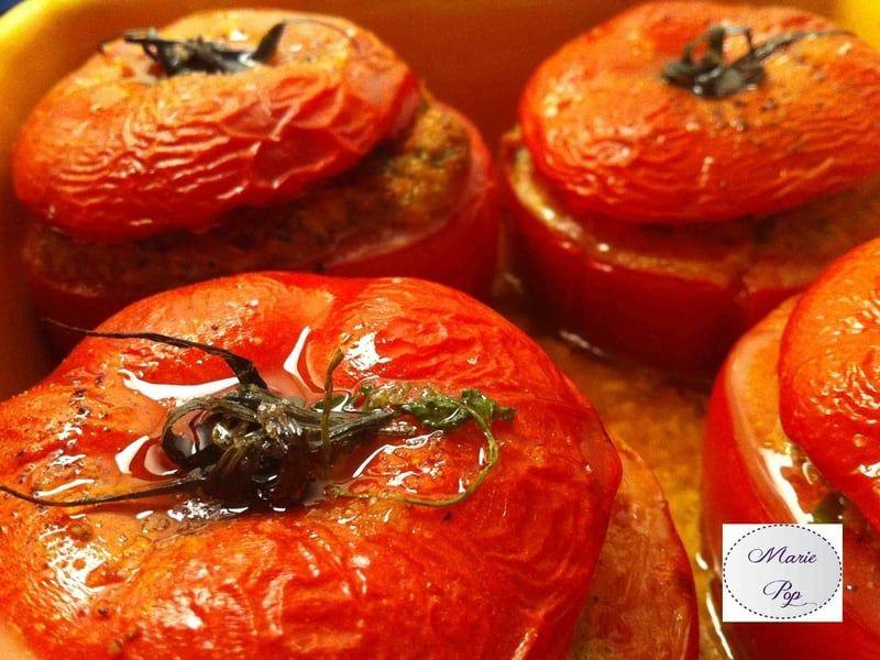Tomates farcies gourmandes | Recette | Recette tomates ...