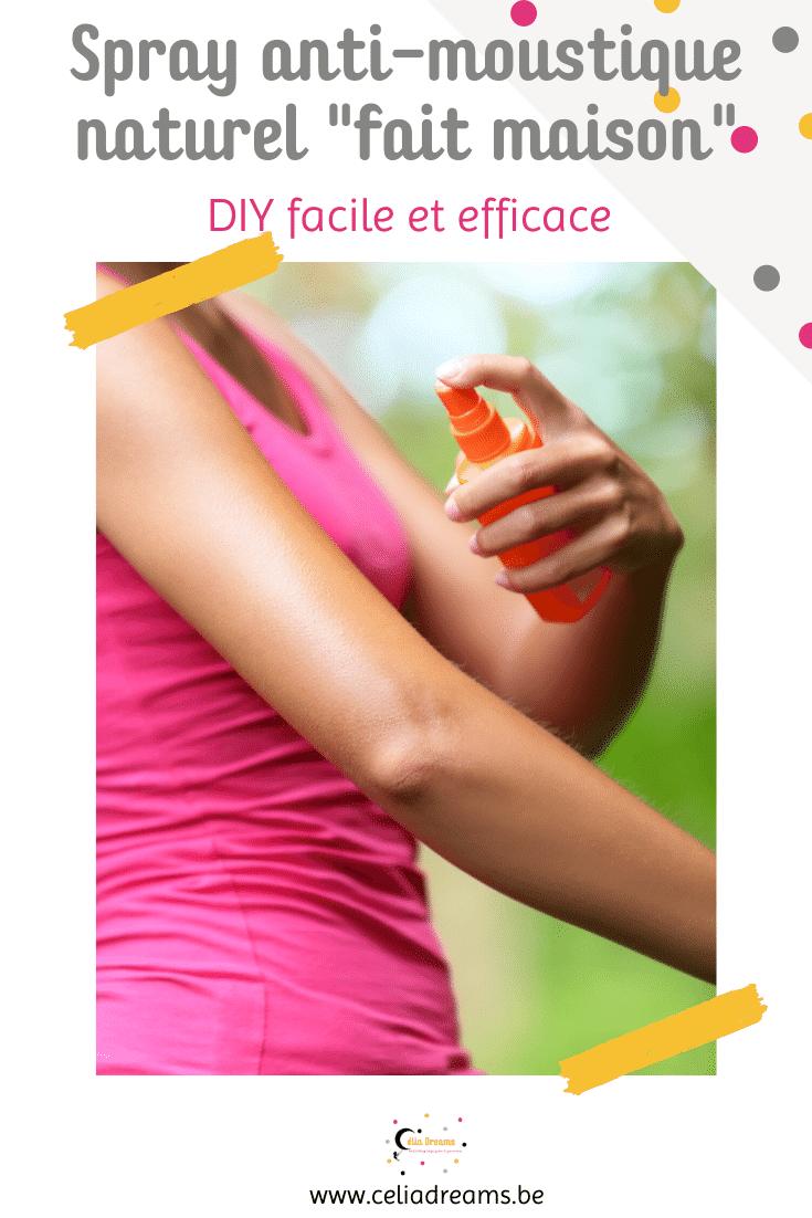 DIY - Spray anti-moustique 100% naturel aux huiles essentielles   Recette en 2020   Anti ...