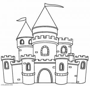 Castle Coloring Pages Castle Coloring Page Coloring Pages