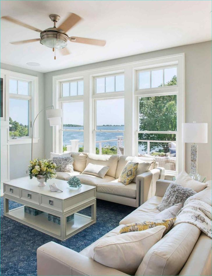 15+ Impressive Coastal Living Room Design Ideas #coastallivingrooms