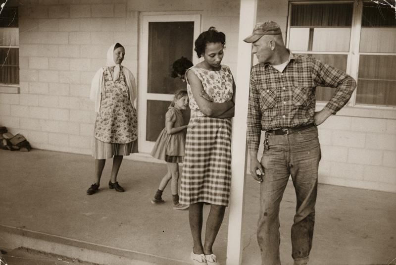 The Loving Story Photographs by Grey Villet Interracial